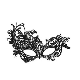 Проекты венецианских масок онлайн-Wholesale- Home Wider Hot Selling Free shipping New Design 1PC Sexy Lace Eye Mask Venetian Masquerade Ball Party Fancy Dress Costume Dec13