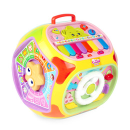 Wholesale Teaching Machine - Colorful ABS 1~3 Yrs Baby Accordion Montessori Instrument Toys Educational Toy Magic Video Teaching Aids Set Materials
