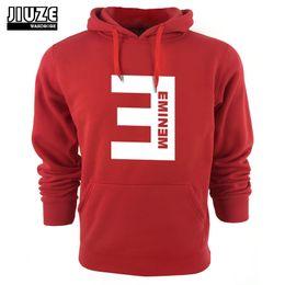 Argentina Las sudaderas con capucha al por mayor-2015 de los nuevos hombres de invierno Eminem imprimieron espesan la sudadera del jersey de los hombres ropa de moda de la ropa deportiva cheap new eminem printed sweatshirts Suministro