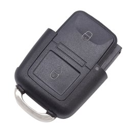 Vw passat chiave vuota online-VW 2 pulsanti Chiave remota Vuoto Passat Shell chiave remota Utilizzato per VW Passat con spedizione gratuita