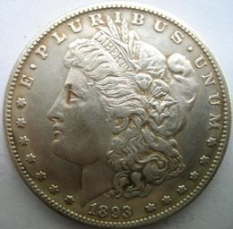 Wholesale Art Dollar - HOT SELLING SET 4 PC (1893-P-S-O-CC) Morgan Silver Dollars ONE DOLLAR FREE SHIPPING