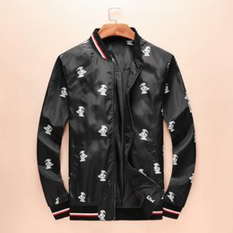 Wholesale Black Long Coat Men Styles - 2017 luxury brand men mon jackets autumn spring mens jacket clothing fashion style Sportswear Clothes coats