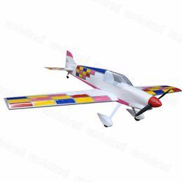 "Wholesale Rc Planes Kits - Wholesale- Flight Model F3A 55.4"" 50 Class Nitro RC Airplane Balsa Wood Plane Kit Trainer"
