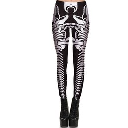 Wholesale Tights Bones - Dinosaur bone pants Dino fossil yoga tight Women gym clothing Leggings sport wear Fitness training sportwear Exercise trousers