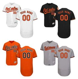 Wholesale Cheap Sport Patches - Custom Baltimore Orioles Sports Throwback mlb Cheap Baseball Jerseys Fashion Men Youth Flex Base Cool Base Commemorative Patch Jersey Sizes