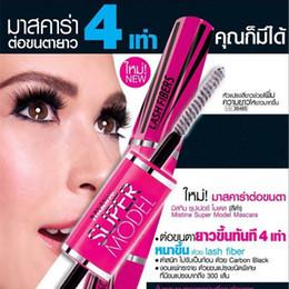 Wholesale Mascara 4d - Eyelash Mascara 4D Long Thick Black Volume Curling Waterproof Eye Makeup Mascara Professional Cosmetic