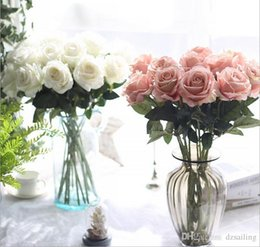 Shop single silk roses wholesale uk single silk roses wholesale single silk roses wholesale uk velvet single rose 9 colors artificial silk flowers for valentines mightylinksfo