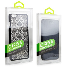 Wholesale Phone Box Sticker - KJ-666 300Pcs With Colorful sticker PVC Packaging Retail Package Box For iPhone 6 7 plus Samsung s7 for Cell Phone Case Pack Accessories