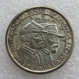 Wholesale Usa Arts - USA 1936 Battle of Gettysburg Anniversary Half Dollar Copy Coins Free shipping Hot Selling High Quality