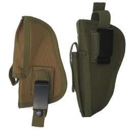Wholesale Man Tactical Bag - EDC Right Left Interchangeable Tactical Holster w Magazine Slot Holder bag for Pistol Hand Gun