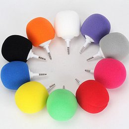 Wholesale Dock Mini Ball Portable - Wholesale- Cute Speakers Stylish 3.5mm Ball Mini Speaker Outdoor Portable Audio Dock For iPhone 6S Samsung ios andriod smart phone