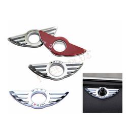 2019 logotipos para pára-brisa do carro 3D Car Styling Decalques Da Porta Adesivos de Metal de Rotulagem Menção Asas Para BMW Mini Cooper Clubman
