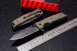 Wholesale Assisted Pocket Knives - 2017 New Kershaw 1329 Assisted Opening Plain Edge Flipper Folding Knife 8Cr13 Blackwash Blade G10 Handle EDC Pocket Knves Original box