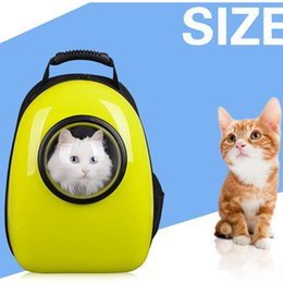 Wholesale Carrier Bag For Pets - Pet Carrier Travel Outdoor Shoulder Breathable Backpack For Dog Puppy Outside Portable Women Cat Cartoon Bags Supplies