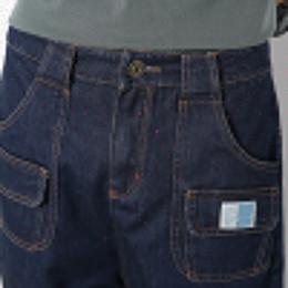 Wholesale Mens Cargo Denim Pants - Wholesale-New Fashion 2016 Mens Jeans Cargo Blue Denim Pants Men Japan Style Casual Loose Drop Crotch Harem Pants Hip Hop Boys Biker Jeans