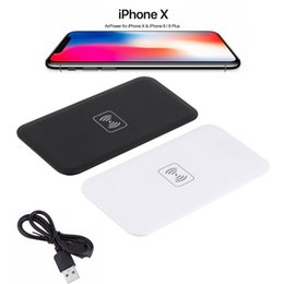 Wholesale Qi Wireless Charger Transmitter Pad - 2018 Qi Standard MC-02A universal Wireless Charger Charging Transmitter Pad For Iphone X 8 Plus Samsung Galaxy S6 S7 edge plus Note8