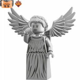 Wholesale Idea Models - WholeSale 20pcs Ideas Doctor Who Weeping Angel SUPER HEROES Model Minifigures Assemble Model DIY Building Blocks Kids Toys