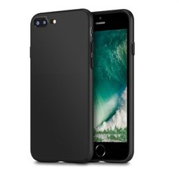 Wholesale Rubberized Protector Case - For iPhone 7 6 6S Plus Frosted PC Matte Ultra-Thin Rubberized Hard Shell Back Cover Case 360 protector