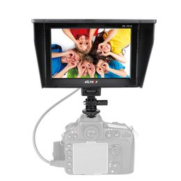 Wholesale Monitor Hd - Viltrox DC-70II 1024X600 7'' Clip-on Color TFT LCD HD Monitor HDMI AV Input for DSLR Camera Camcorder