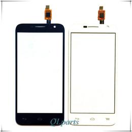 Wholesale Alcatel Mobiles Phones - Wholesale- 4.5 inch Mobile Phone Touch Panel For Alcatel One Touch Idol 2 mini 6016 OT6016 6016A Touch Screen Digitizer Front Glass Sensor