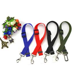 Wholesale Dog Safety Car Harness - Adjustable Pet Dog Safety Belt Useful Convenient Vehicle Car Safe Seat Belt Harness Restraint Lead Leash Clip FSAU0003