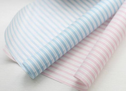 Wholesale Sandwich Wrapping Paper Wholesale - 100pcs lot Stripe Sandwich Wrapping Paper,Greaseproof Wax Coating,Baking Food Hamburger Soap Packaging