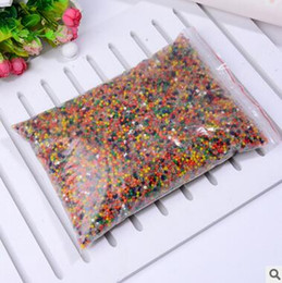 Wholesale Magic Soil Crystal Wholesale - HOT 1000g Crystal Soil Water Beads Mud Magic Jelly Balls Pearl Shaped Plant Breed Home Decor Water Swelling Toy Free Shipping