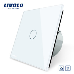Wholesale Remote Touch Dimmer - Livolo EU Standard Switch, Eu Standards AC 220~250V Remote& Dimmer Wall Light Switch,VL-C701DR-1 2 3 5