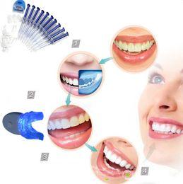Wholesale Home Dental Kits - Cindytoys Health Care Dental Equipment Teeth Dental System Tooth Gel Dental Trays Care Home Kit Teeth (Color: Blue)