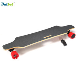 Wholesale Motors Speed Control - Speed 40KM h Samsung Remote Control Double Motors 300W*2 4 Four Wheels Electric Skateboard Hoverboard Longboard Scooter Board