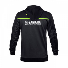 Wholesale Women Hoodies Zip Up Jacket - Free Shipping 2018 Valentino Rossi VR46 for Yamaha M1 Hoodie Moto GP Hoodies Sports Men's Zip-up Hoody Racing Jacket for Kawasaki