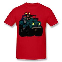 Wholesale Off Road Neck - Off-road Vehicle Car Normal T-Shirts Mens Lowest Price Men T Shirts Printed Homem Cotton Cheap T Shirts Fashion 2017 Cotton Humorous T Shirt