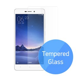 Wholesale Iphone 3s Screen - Wholesale- Tempered Glass For Xiaomi Redmi 3 3S 3X 3Pro Protective Glass Film 0.33mm 9H For Xiaomi Mi Redmi 3 Screen Protector