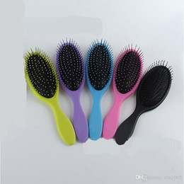 Wholesale Massage Combs - Wholesale 10pcs High Quality Magic Hair Brush Colorful Airbag Comb Massage Comb Brush Hair Wet Comb