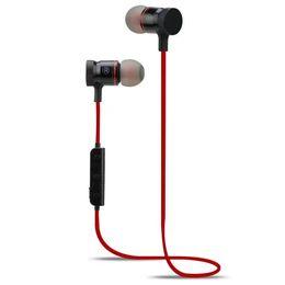 Wholesale Newest Headphones - Newest M90 Magnet Wireless Bluetooth Earphones Headset Stereo Music Headphones Sport Running Magnetic Earphones For iphone Samsung