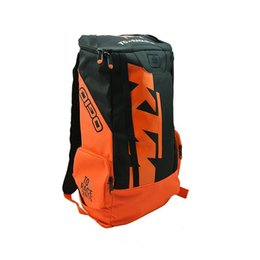 Wholesale Motocross Bags - Ktm backpack motorcycle ride backpack equipment bag fashion motorcycle outdoor backpack motocross riding racing hot selling