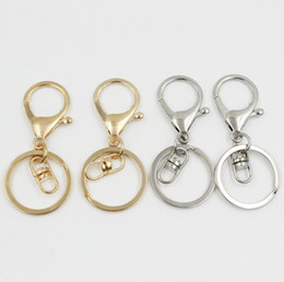 Wholesale Key Chain Order - Good A++ High-grade key chain accessories lobster clasp key chain pendant with eight buckle KR067 Keychains mix order 20 pieces a lot