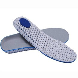 Wholesale Memory Foam Shoe Insole Inserts - Super soft breathable EVA sport shoes shock absorption insoles running insole athletic insert air drying odor deodorant shoe pad