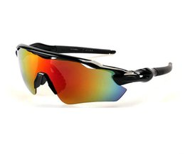 Wholesale New Super Lens - New Arrival Summer Sports Sunshade Eyeglasses Super cool Half Frame Dazzle colour Resin lenses Cycling Windproof Designers Sunglasses A+++