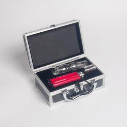 electronic wax pipes Canada - Vaporizer Dry Herb Portable E Nails Kit Dabber Tool Wax Vape Pens Electronic Nail Dab Wax Vape Kit Mods Glass Pipe