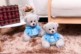 Wholesale Girl Baby Teddy Bears - Kids Bear Plush Dolls Toy Baby Stuffed Bear Toys with Clothes Girl Boy Creative Christmas Gifts Birthday Party Baby Shower Wedding Toy Decor