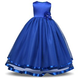 Wholesale Lolita Prom Dresses - Gorgeous Princess Prom Dance Dress Birthday Party Kids Girl Dresses Children's Clothing for Teenager Girls Clothes