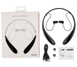 2019 lg tone drahtlos New Tone Ultra HBS800 Sport Stereo Bluetooth Wireless HBS 800 Headset Kopfhörer Kopfhörer für LG Iphone 7 Samsung S8 + Kleinpaket DHL günstig lg tone drahtlos
