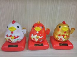 Wholesale Golden Shake - Chicken to golden solar shook his head doll furnishing articles furnishing articles desktop car Chicken childe chicks