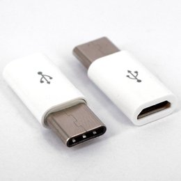 Wholesale micro usb connector female - free ship USB 3.1 Type-C Male to Micro USB Female Mini Connector Adapter Type C Factory outlets