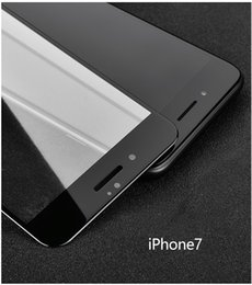 Wholesale Screen Protection - Apple iPhone6s carbon fiber tempered glass film 6plus full-screen surface 3D soft side color protection film