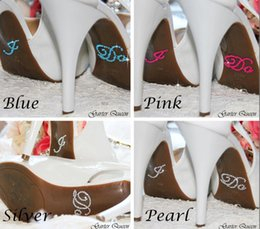 """Wholesale Accessory Wholesale Shoes - Say """"I Do"""" """"ME TOO"""" with your shoes Bridal Accessories Rhinestone Stickers for Bridal Shoes Designed for Wedding Bride Shoes"""