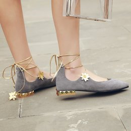 Wholesale Quality Assurance Products - Ms summer sexy flat belt recreational shoe, European and American fashion product, quality assurance, global free postage