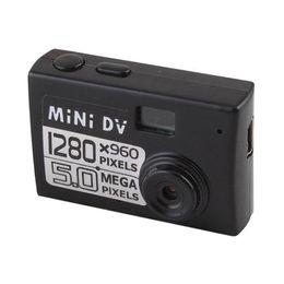 Wholesale Vga Cmos Camera - Hot selling Mini Web DV Camera without LCD screen Y1000 Portable Small Action Camera VGA 720p 60 degree Angel