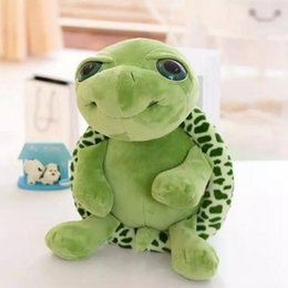 Wholesale Turtles Stuffed Toys - New 18cm and 35cm, cute big eyes, turtles, little turtles, stuffed toys, creative birthday gifts, dolls